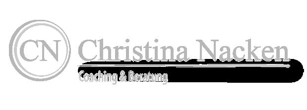 Grafikdesign und Webdesign für Christina Nacken Coaching