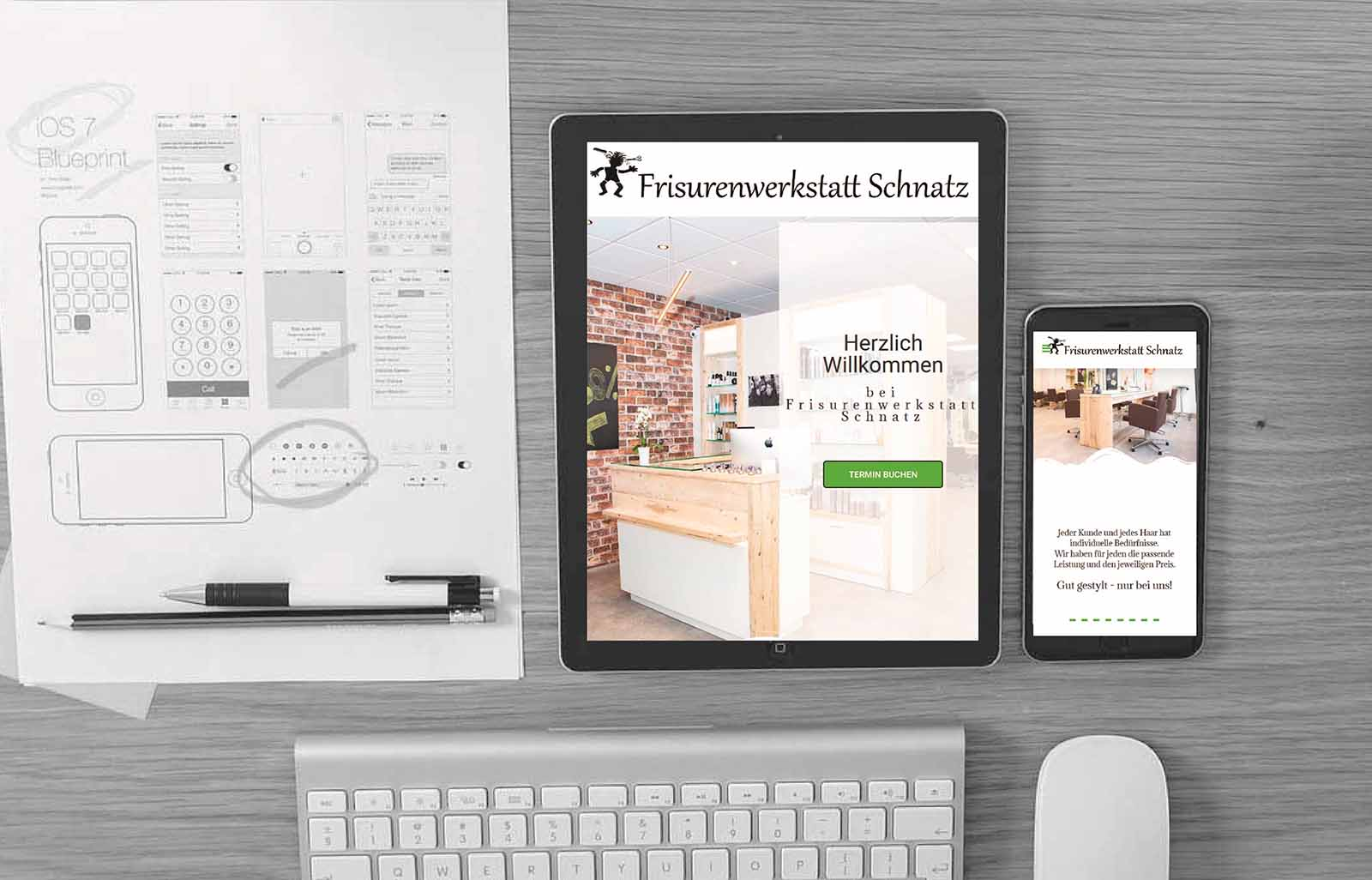 Website & Logo-Neugestaltung