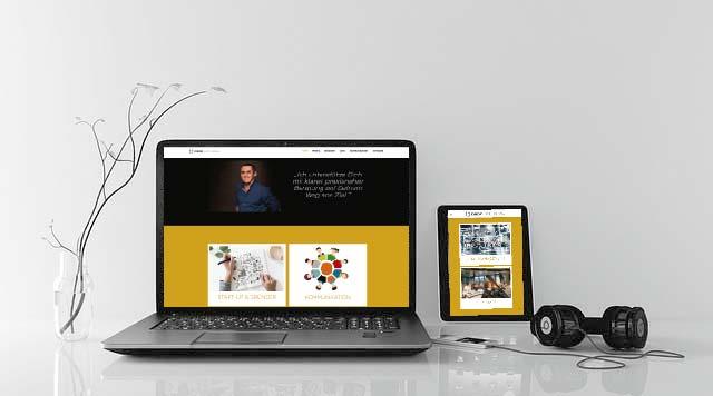 Website-Erstellung & Texte von Design hoch K