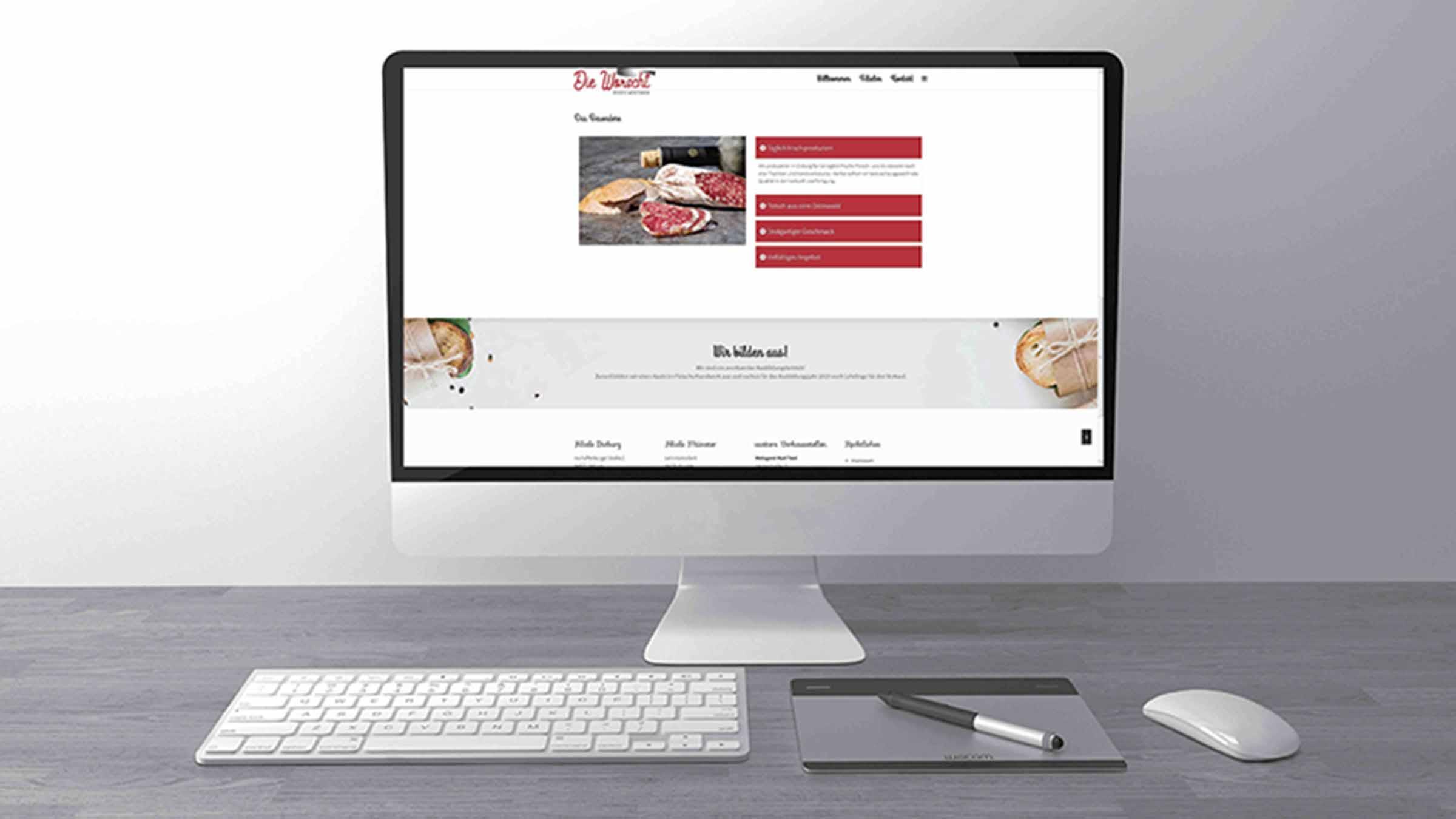 Grafikdesign und Webdesign von Medienagentur Design hoch K